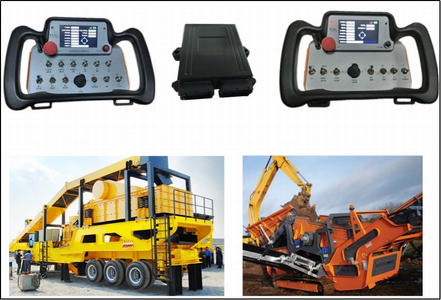08-remote_control_for_Mobile_Hydraulic_Crushing_and_Screening-Machine_9X Minerals_Alpha-intelligence