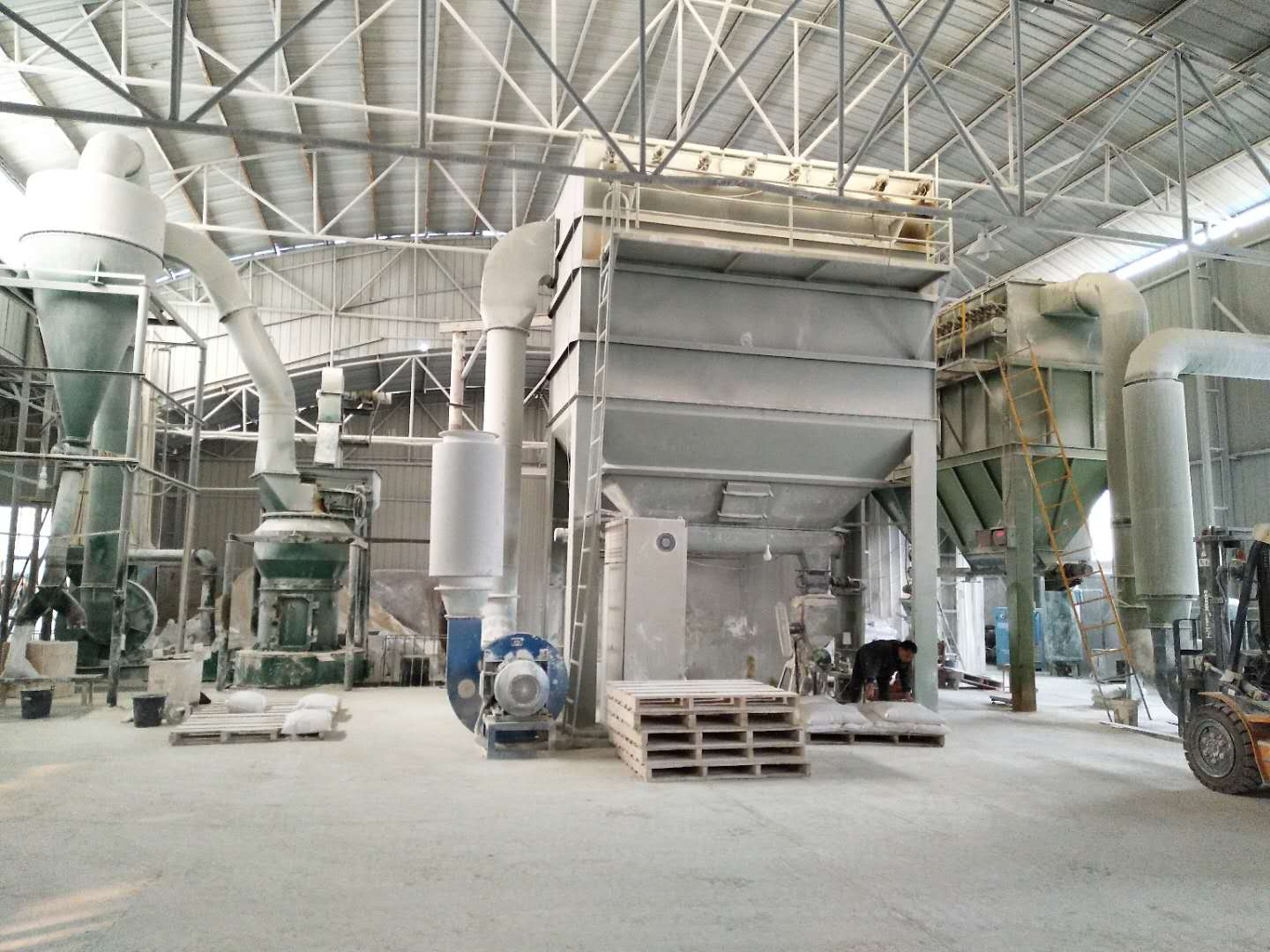 Barite grinding plant-9X Minerals